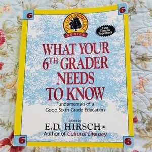 Other - What Your 6th Grader Needs to Know Book Homeschool
